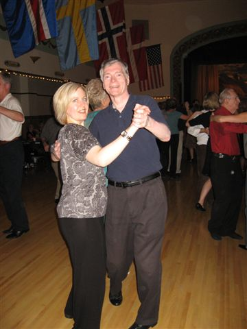 Sherry and George social Sesame Dance Club ballroom dancing